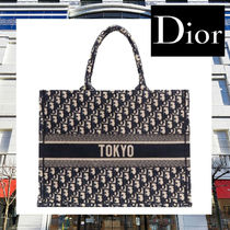 ★GINZA SIX限定★【Dior】キャンバス ブック トート バッグ
