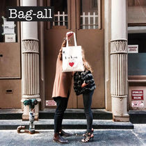 NY発★Bag-all★インスタ映え! NEW YORK HEART TOTE BAG関送込み