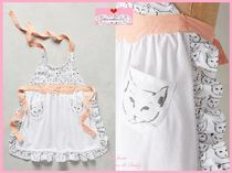 最終SALE☆在庫限り&即納【Anthro】Cat Study Kid's Apron