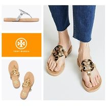 【TORY BURCH】新作 * Miller Leather Espadrille Sandals