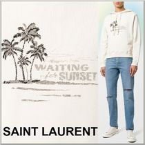 18SS★Saint Laurent サンセット パーカー WAITING FOR SUNSET
