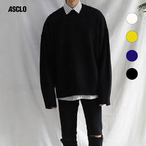 ★ASCLO★ PERFECT SLEEVE VENT KNIT