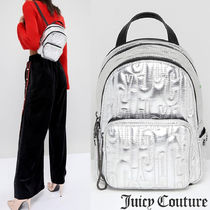 Juicy By Juicy Couture☆メタリックエンボスミニバックパック