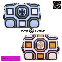 Tory Burch*新作*ロゴ入り化粧ポーチ*Cosmetic Case