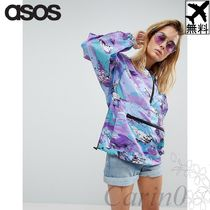 ASOS☆Over the Head レインレインコート Abstract Print