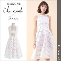【国内発送・関税込】Chicwish★Uniqueness Floral CutOut Dress