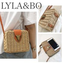 春夏!送料無料!Sunday box bag【LYLA&BO】