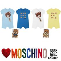 18SS☆Moschino★テディベアショートロンパース2点セット