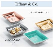 [Tiffany & Co.] Metallic Vide Poches☆お洒落な4枚セット