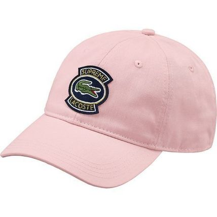 Supreme キャップ 9 week SS18 Supreme LACOSTE Twill 6-Panel(7)
