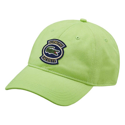 Supreme キャップ 9 week SS18 Supreme LACOSTE Twill 6-Panel(11)