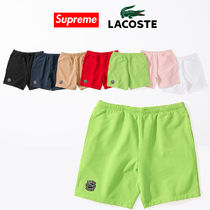 9 week SS18 Supreme LACOSTE Sweatshorts