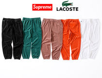 9 week SS18 Supreme LACOSTE Velour Track Pant