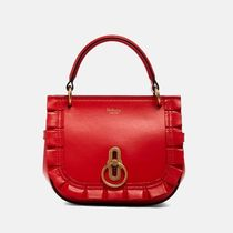 【MULBERRY】1018SS★『AMBERLEY』サッチェルバッグ/RED送料込