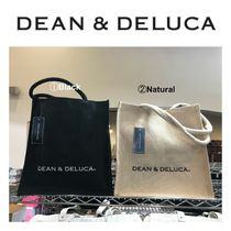 【DEAN&DELUCA】●大人気●Natural Cotton Jute Tote-Medium