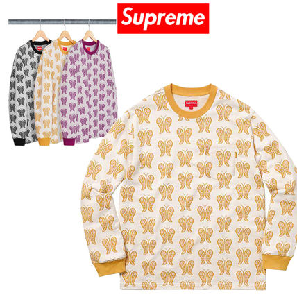 9 week SS18 Supreme Butterfly Jacquard Top