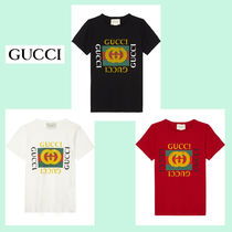 GUCCI(グッチ) キッズ用トップス ☆GUCCI☆ MINI ME 大人気ヴィンテージロゴTシャツ♪ 4A~8A
