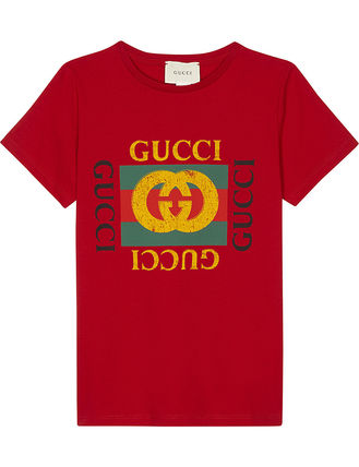 GUCCI キッズ用トップス ☆GUCCI☆ MINI ME 大人気ヴィンテージロゴTシャツ♪ 4A〜8A (4)