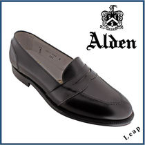 【ALDEN】FULL STRAP SLIP ON オールデン レザー 黒★