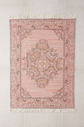 Urban Outfitters ラグ・マット・カーペット UO★Stina Floral Space Dyed Printed Rug★91×152cm(3)
