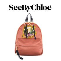 SEE BY CHLOE small Andy satin backpack