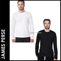 JAMES PERSE(ジェームスパース) Tシャツ・カットソー ★追跡付【即発送・JAMES PERSE】Men Long Sleeve Crew