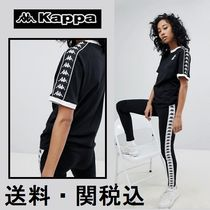 Kappa(カッパ) Tシャツ・カットソー Kappa リンガー Tシャツ With チェスト ロゴ And タッピング