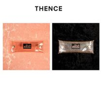 【THENCE】BUTTON POUCH(PINK/)グリッターペンケース