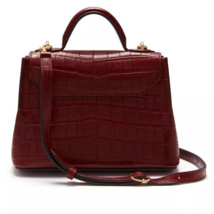 Mulberry ショルダーバッグ・ポシェット Mulberry☆Micro Seaton -Croc Embossed Nappa- クロコ柄(3)