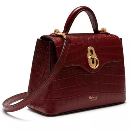 Mulberry ショルダーバッグ・ポシェット Mulberry☆Micro Seaton -Croc Embossed Nappa- クロコ柄(4)