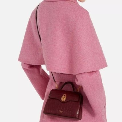 Mulberry ショルダーバッグ・ポシェット Mulberry☆Micro Seaton -Croc Embossed Nappa- クロコ柄(7)
