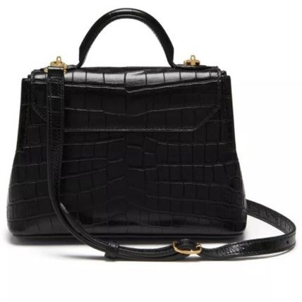 Mulberry ショルダーバッグ・ポシェット Mulberry☆Micro Seaton -Croc Embossed Nappa- クロコ柄(10)