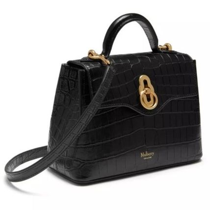 Mulberry ショルダーバッグ・ポシェット Mulberry☆Micro Seaton -Croc Embossed Nappa- クロコ柄(11)
