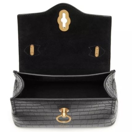 Mulberry ショルダーバッグ・ポシェット Mulberry☆Micro Seaton -Croc Embossed Nappa- クロコ柄(12)