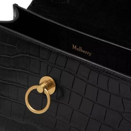 Mulberry ショルダーバッグ・ポシェット Mulberry☆Micro Seaton -Croc Embossed Nappa- クロコ柄(13)