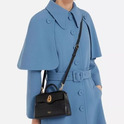 Mulberry ショルダーバッグ・ポシェット Mulberry☆Micro Seaton -Croc Embossed Nappa- クロコ柄(14)