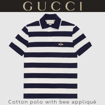 GUCCIグッチ★夏に活躍!大人気!★コットン ポロシャツ with bee
