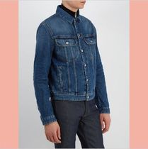 【数量限定】18SS Bla Konst Tent point-collar denim jacket