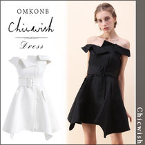 【国内発送・関税込】Chicwish★Asymmetric Beauty Dress