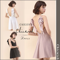【国内発送・関税込】Chicwish★Angel's Wings Cami Dress
