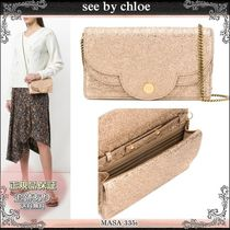 18SS☆送料込【see by chloe】 Polina チェーンウォレット