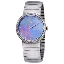 稀少 Dior(ディオール) Baby D Mother of Pearl Diamond Ladies