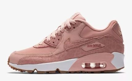 Nike キッズスニーカー  大人もOK ★ NIKE AIR MAX 90 キュート 人気のコーラルピンク(2)