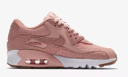 Nike キッズスニーカー  大人もOK ★ NIKE AIR MAX 90 キュート 人気のコーラルピンク(3)