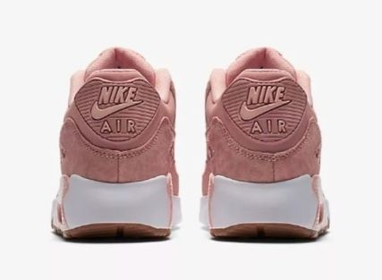 Nike キッズスニーカー  大人もOK ★ NIKE AIR MAX 90 キュート 人気のコーラルピンク(6)