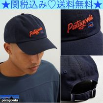★Patagonia★Embroidered Script Trade ベースボールキャップ★