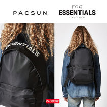 【限定】FEAR OF GOD(フィアオブゴッド) x pacsun backpack-blk