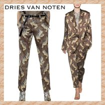 【Dries Van Noten】2018SS★Paola Printed パンツ Brown
