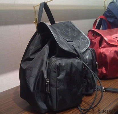 reputable site b46ee 09281 SALE!すぐ届く♡GUCCI(グッチ)ナイロン バックパック 2色