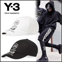 NEW☆Y-3(ワイスリー) ロゴ Stacked ベースボール キャップ 2色